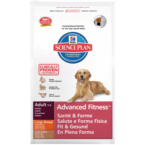 Hills Science Plan Canine Adult Advanced Fitness Large Lamb