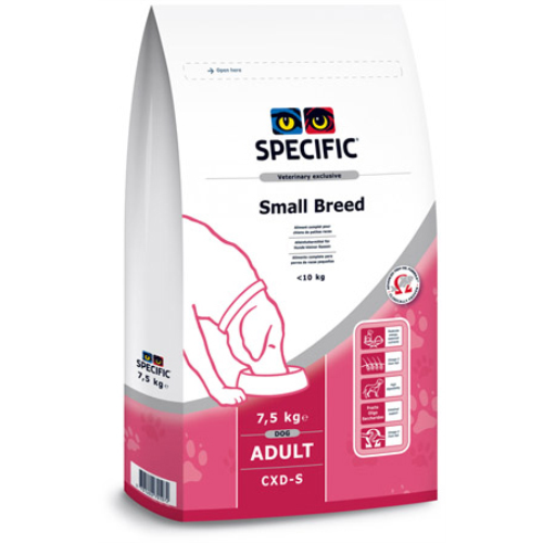 Specific CXD-S Adult Small Breed Dog Food 4kg