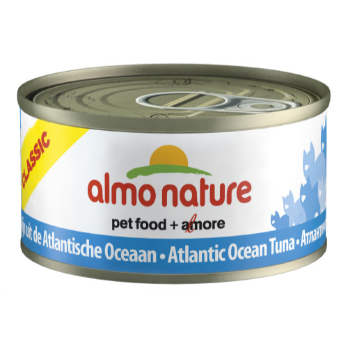 Almo nature classic tins tuna cat food from for Is tuna fish good for cats