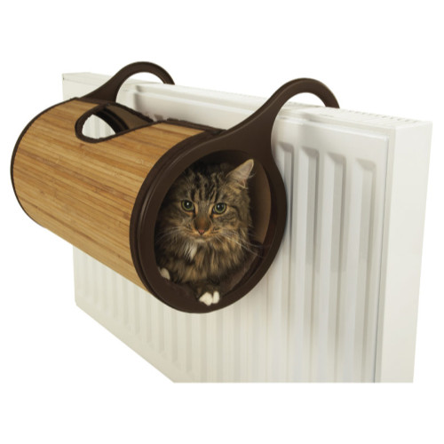 Rosewood Jolly Moggy Natural Bamboo Radiator Bed