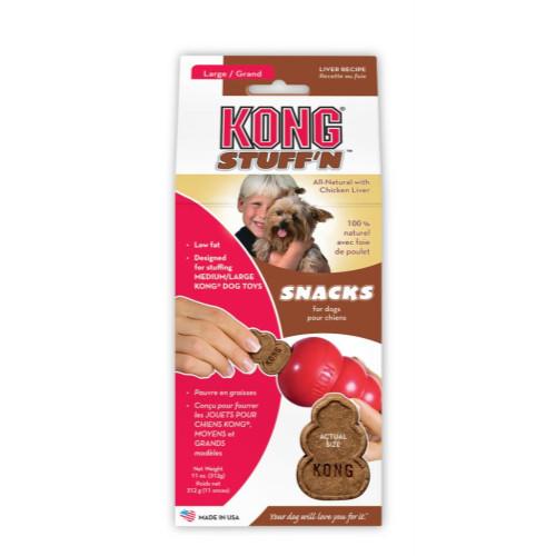 KONG Snacks Stuff n Dog Treats for Kong Toy