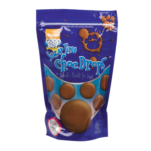 Good Boy Sugar Free Dog Chocolate Drops Pouch 250g