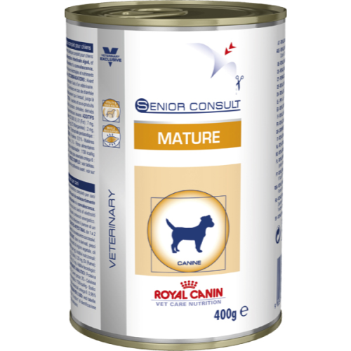 Royal Canin VCN Senior Consult Mature Wet Dog Food 400g x 12