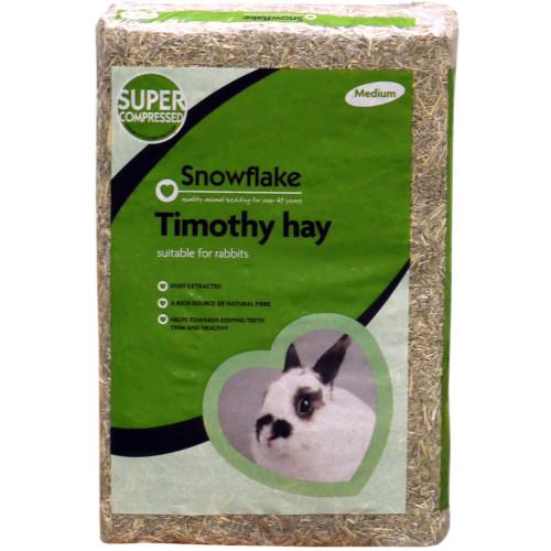 Snowflake Timothy Hay