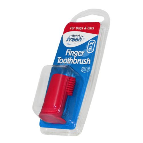 Dentifresh Finger Toothbrush for Dogs & Cats