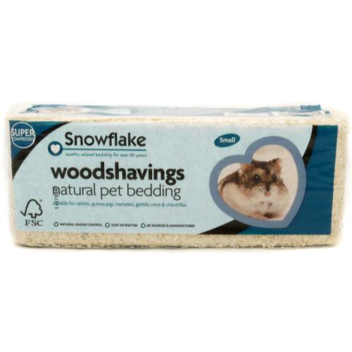 Snowflake Woodshavings