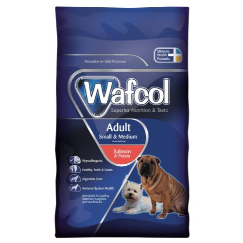 Wafcol Salmon & Potato Small & Medium Adult Dog Food 12kg
