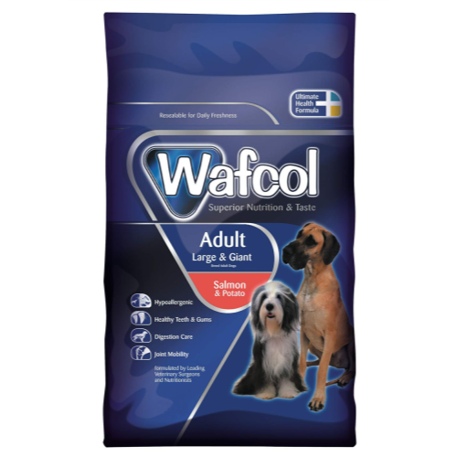 Wafcol Salmon & Potato Large & Giant Adult Dog Food 12kg