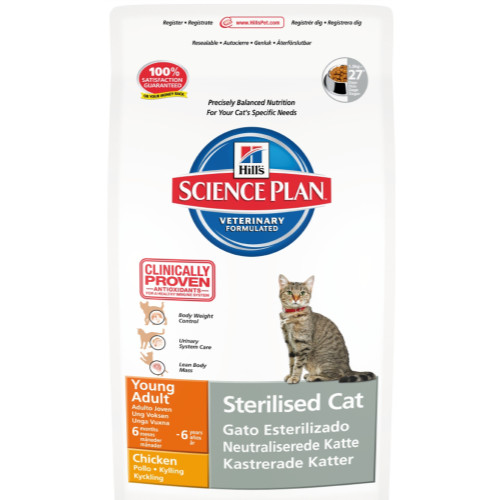 Hills Science Plan Feline Young Adult Sterilised Cat Chicken