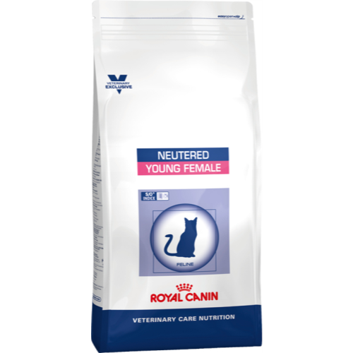 Royal Canin VCN Neutered Young Female Cat Food 3.5kg