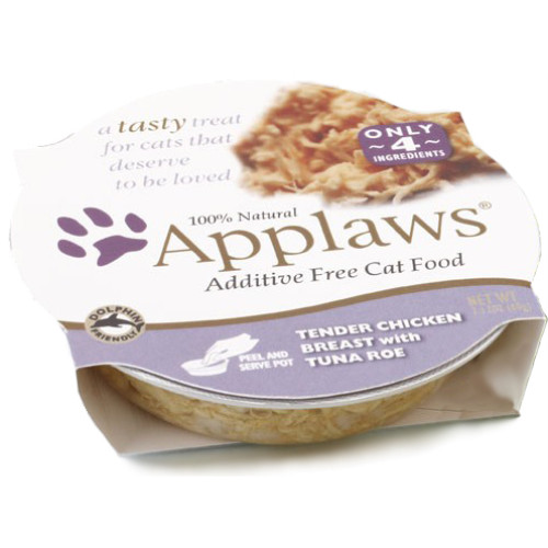Applaws Chicken & Tuna Roe Pot Adult Cat Food