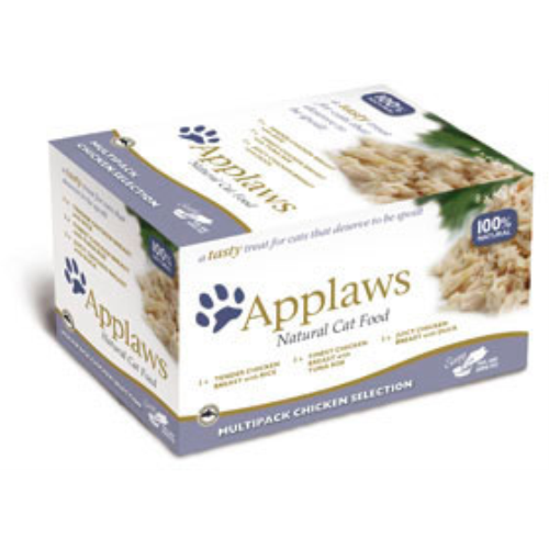 Applaws Multipack Pot Adult Chicken Cat Food 60g x 8