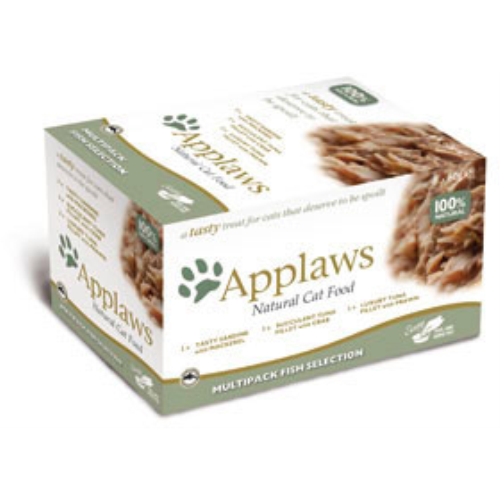 Applaws Fish Selection Multipack Pot Cat Food 60g x 48