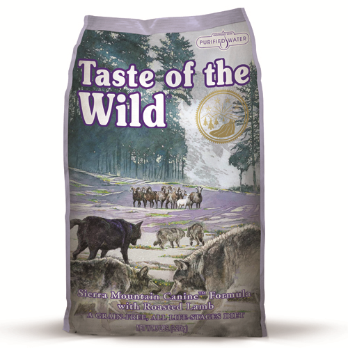 Taste Of The Wild Sierra Mountain Lamb Adult Dog Food 12.2kg