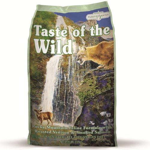 Taste Of The Wild Rocky Mountain Feline Venison & Salmon Cat Food 2kg