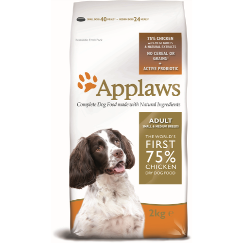 Applaws Chicken Small & Medium Breed Dry Adult Dog Food 2kg