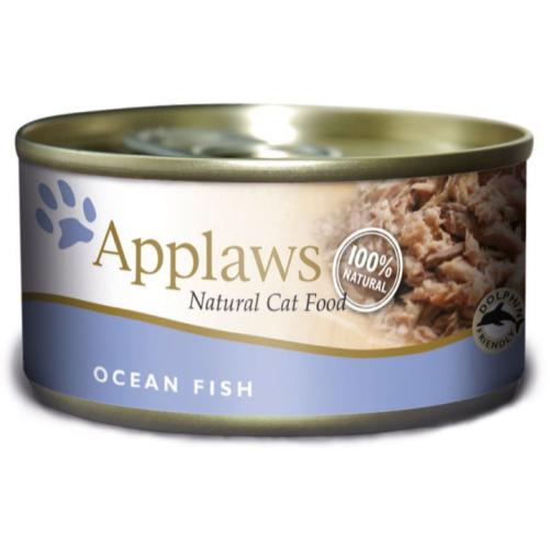 Applaws Ocean Fish Can Adult Cat Food 156g x 6