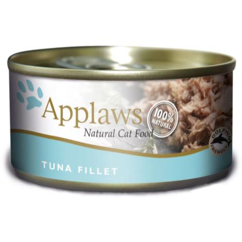Applaws Tuna Fillet Tin Adult Cat Food 70g x 24