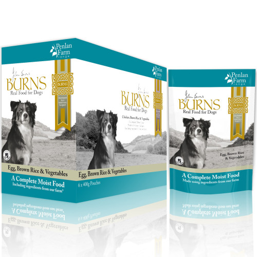 Burns Penlan Farm Egg Complete Moist Dog Food