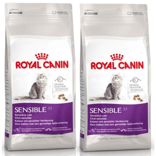royal canin health nutrition sensible 33 cat food from 4. Black Bedroom Furniture Sets. Home Design Ideas