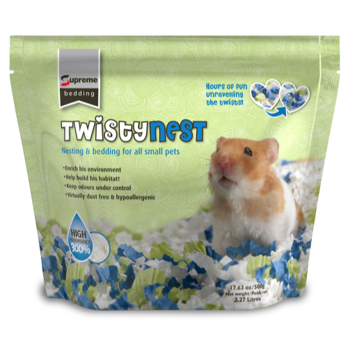 Supreme Twistynest Small Pet Bedding 500g