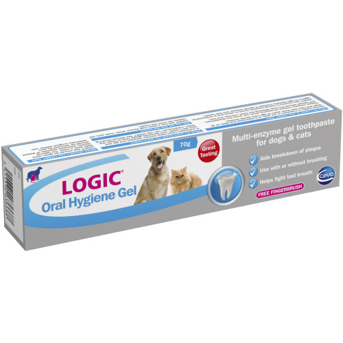 Logic Oral Hygiene Gel Enzymatic Dog & Cat Toothpaste