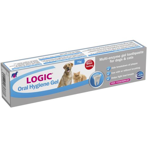 Logic Oral Hygiene Gel Enzymatic Dog & Cat Toothpaste 70g