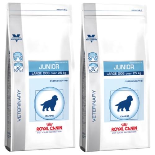 Royal Canin VCN Pediatric Junior Large Dog Food 14kg x 2