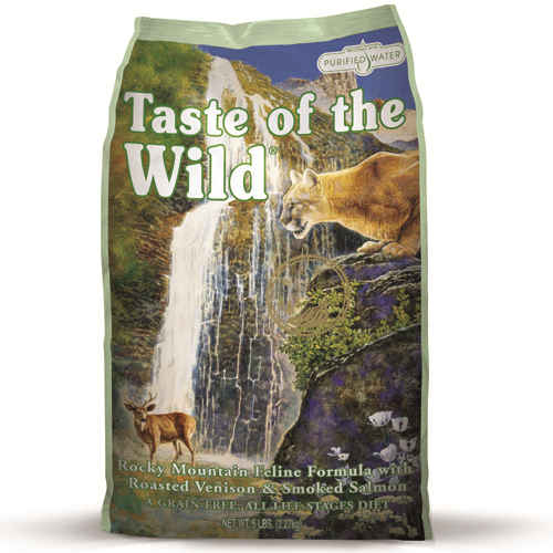 Taste Of The Wild Rocky Mountain Feline Venison & Salmon Cat Food 6.6kg
