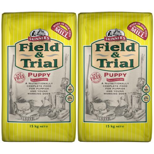 Skinners Field & Trial Chicken Puppy Food 15kg x 2