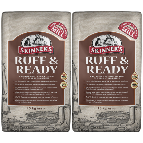 Skinners Ruff & Ready Adult Dog Food 15kg x 2