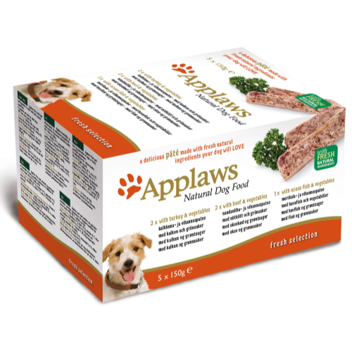 Applaws Pate Multipack Adult Dog Food 150g x 5 Country Fresh