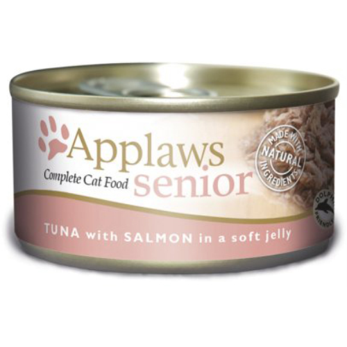 Applaws Tuna & Salmon in Jelly Can Senior Cat Food 70g x 6