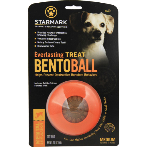 Starmark Everlasting Treat Bento Ball Dog Toy