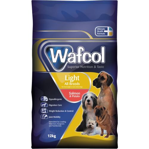 Wafcol Salmon & Potato Light Dog Food 12kg