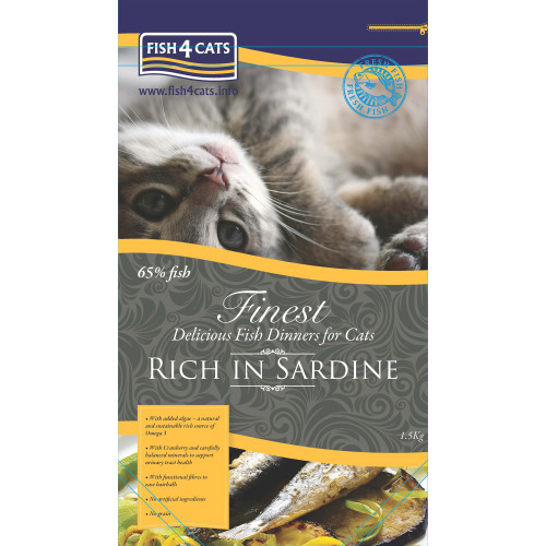 Fish4Cats Finest Sardine Cat Food