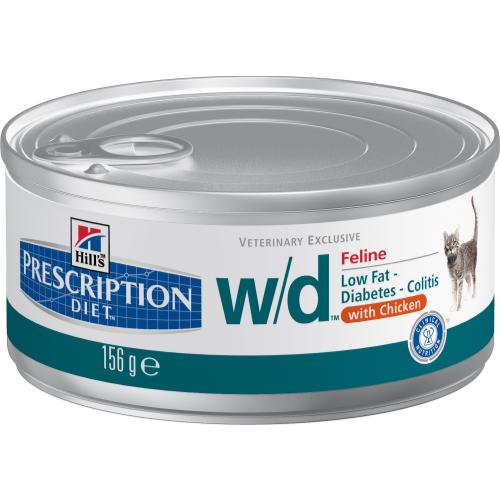 Hills Prescription Diet Feline WD Canned 156g x 72