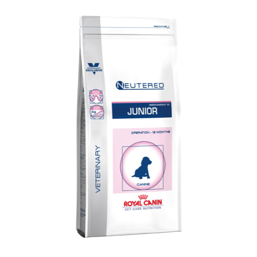 Royal Canin VCN Neutered Junior Medium Dog Food 10kg x 2
