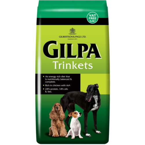 Gilpa Trinkets Dry Dog Food 15kg x 2