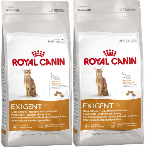 royal canin health nutrition exigent 42 protein preference cat from waitrose pet. Black Bedroom Furniture Sets. Home Design Ideas