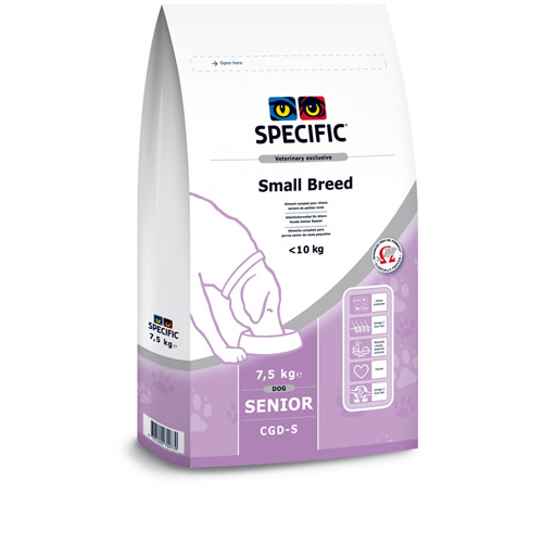 Specific CGD-S Senior Small Breed Dog Food 7kg x 2
