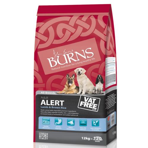 Burns Alert Lamb & Brown Rice Adult Dog Food