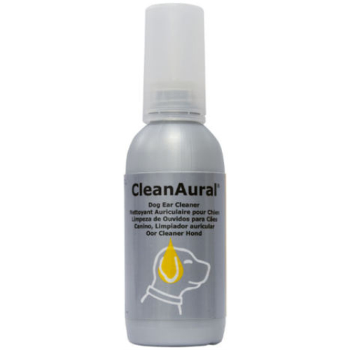 CleanAural Ear Cleaning Fluid for Dogs 100ml Sensitive