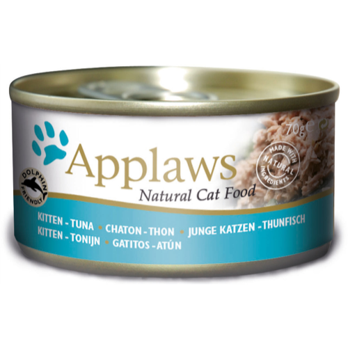 Applaws Tuna Can Kitten Food 70g x 24