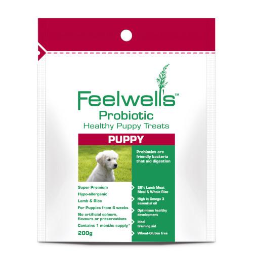 Feelwells Probiotic Super Premium Healthy Puppy treats
