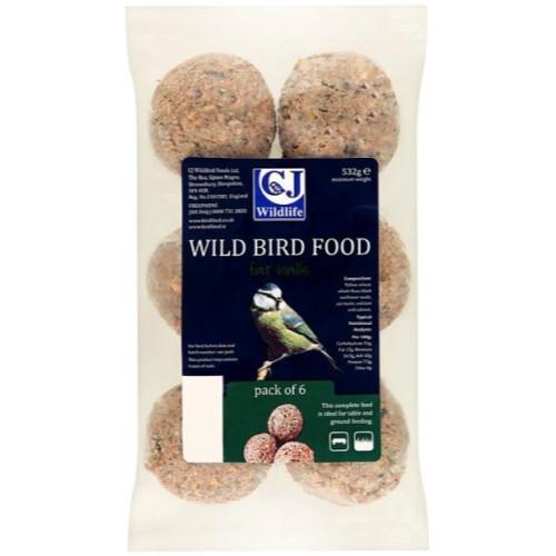CJ Wildlife Fatballs Wild Bird Food