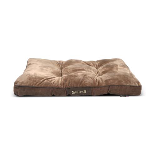 Scruffs Chester Mattress in Chocolate Dog Bed