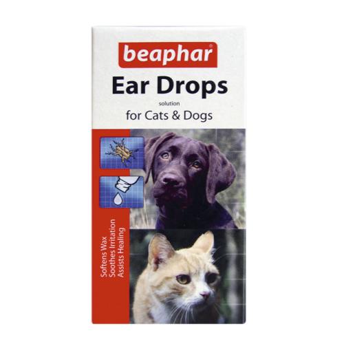 Beaphar Dog & Cat Ear Drops 15ml