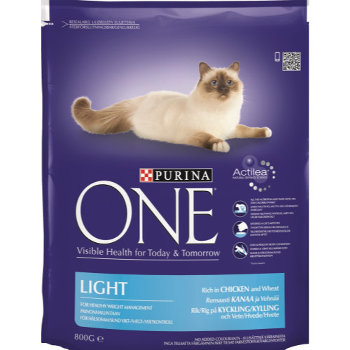 Purina ONE Chicken & Wheat Light Adult Cat Food
