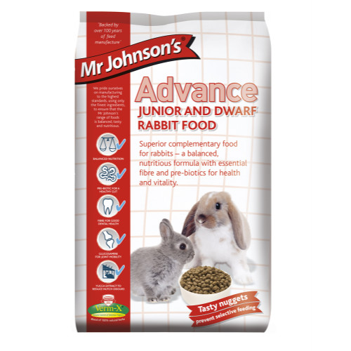 Mr Johnsons Advance Junior & Dwarf Rabbit Food
